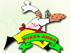 Pizza Ahsa Logo